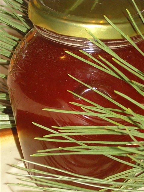 Полезное варенье из сосновых почек -свечек