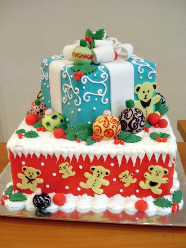 Торт с Новым годом