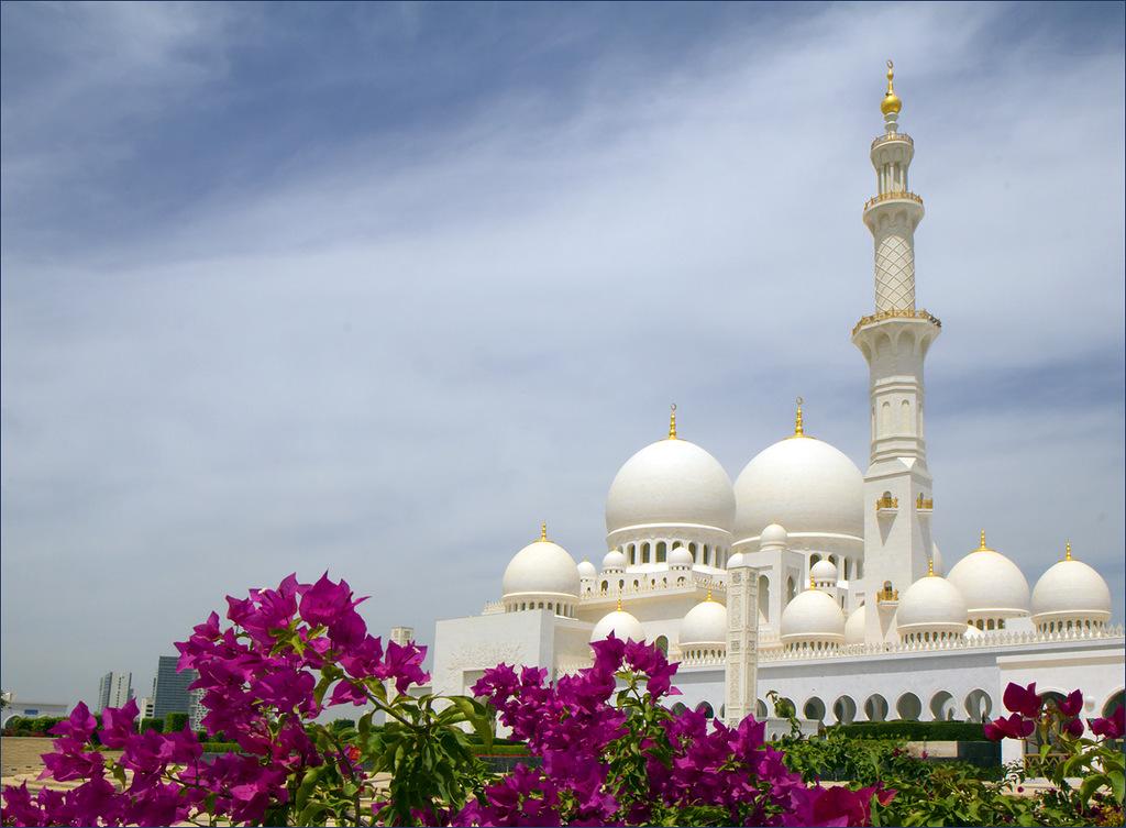 Мечеть шейха Заеда.Абу-Даби. ОАЭ.
