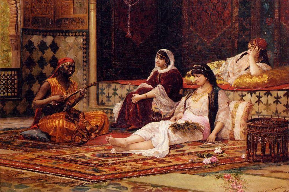 Представление и история гарема! Резиденция султана1