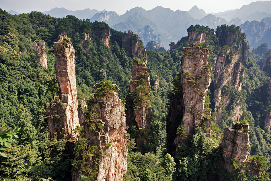 Национальный парк Чжанцзяцзе National Park Zhangjiajie Китай