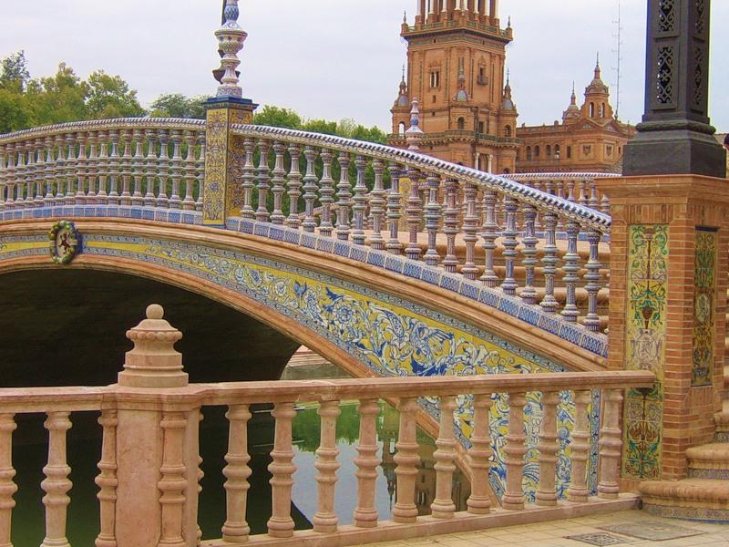 """Севилья. """"Площадь Испании""""(Plaza de España)"""