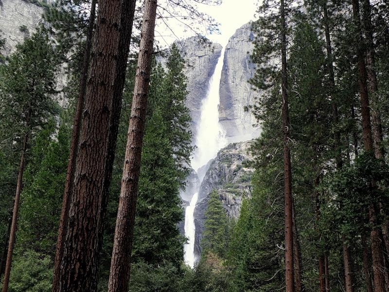 Америка. Каньоны. Водопады