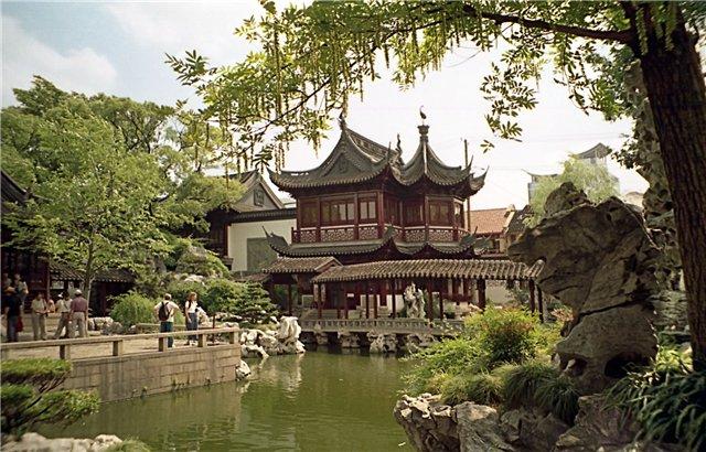 Сад Радости. Китай