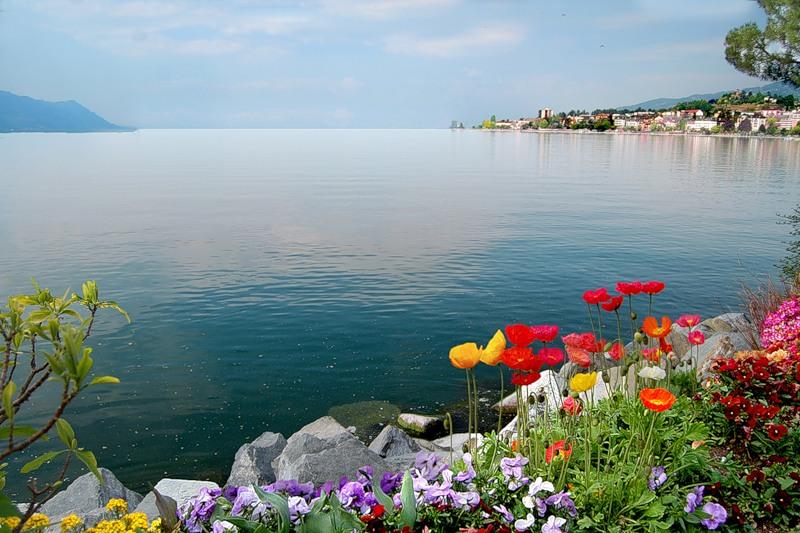 Швейцария. Женевское озеро!