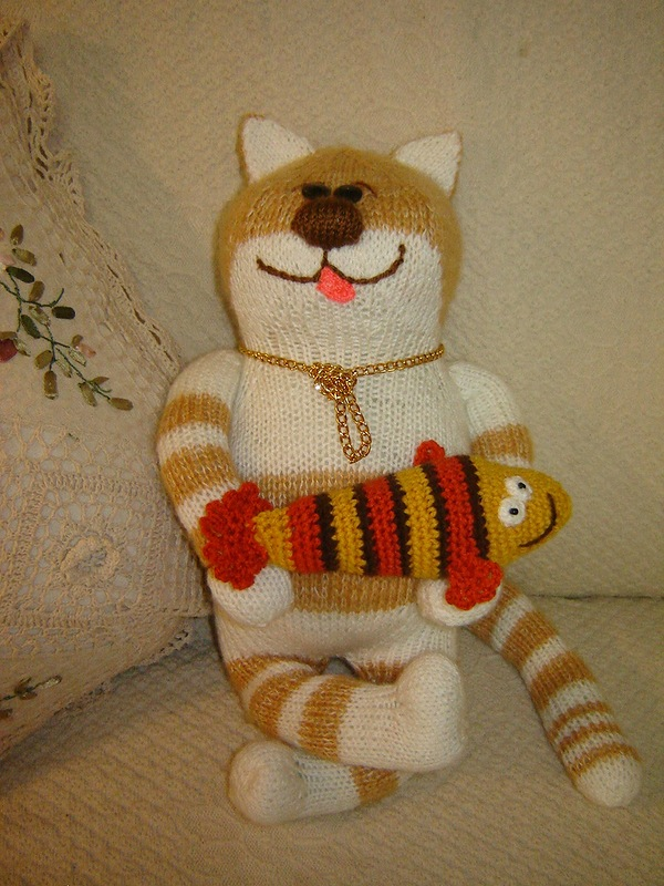 Вязаные игрушки и куклы, поднимающие настроение!