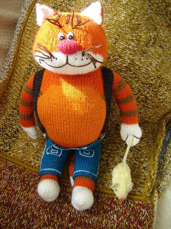 Вязанные игрушки и куклы, поднимающие настроение!