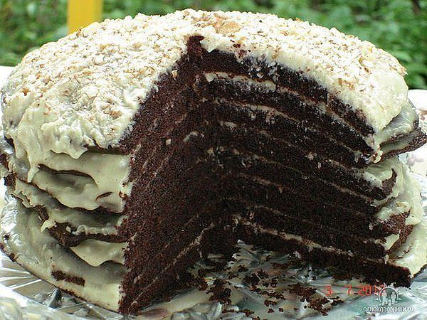 """Торт """"Ноченька"""""""