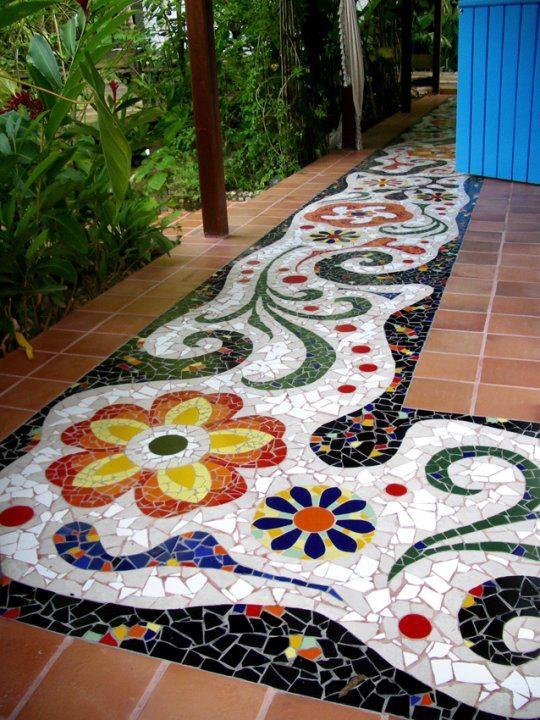 Витражи и мозаика в современном дизайне! История создания!