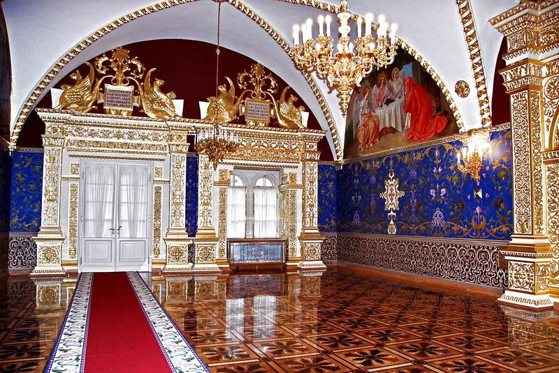 Большой Кремлевский дворец. Кремлевские палаты
