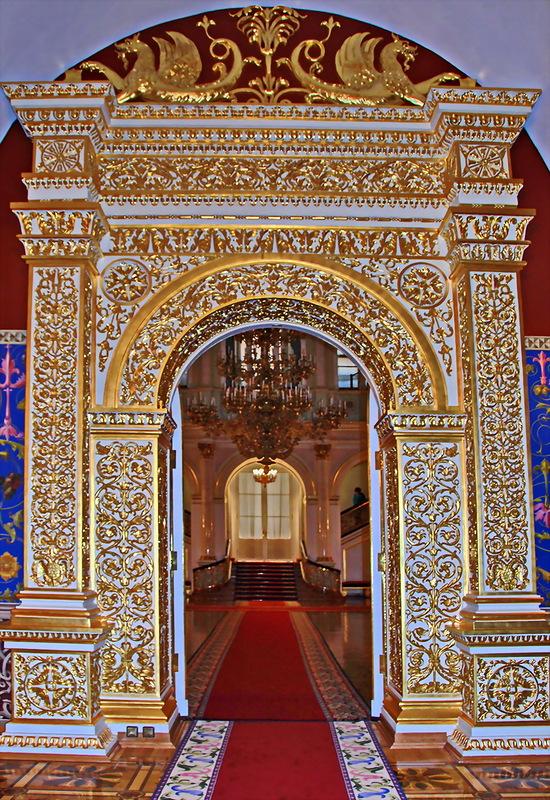 Кремлевский дворец! Святые Сени