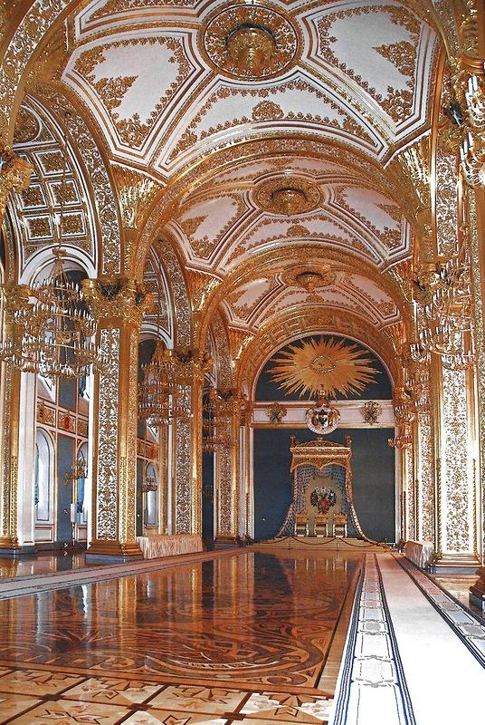 Кремль. Андреевский зал