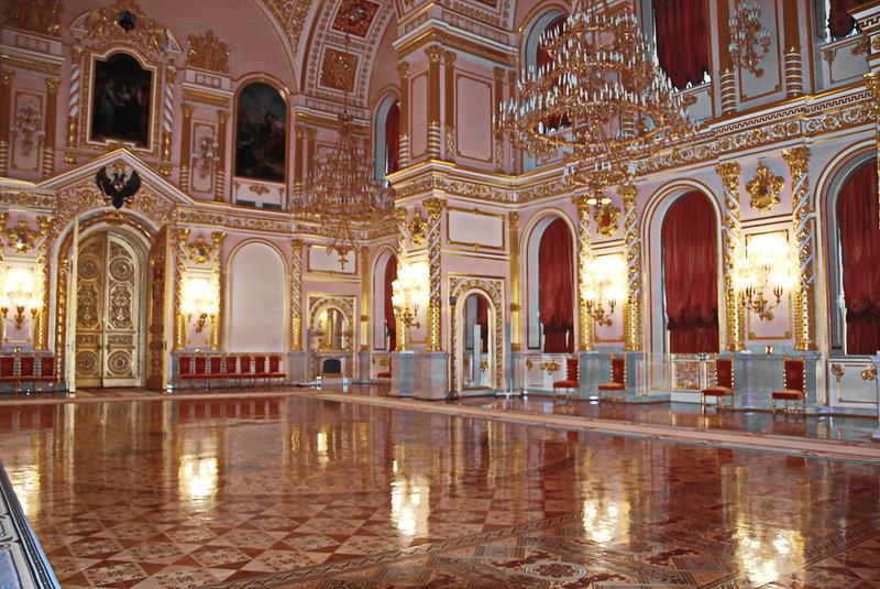 Кремль. Александровский зал.