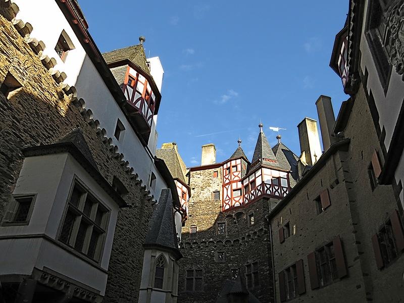 Замок Эльц, одна из жемчужин Германии!