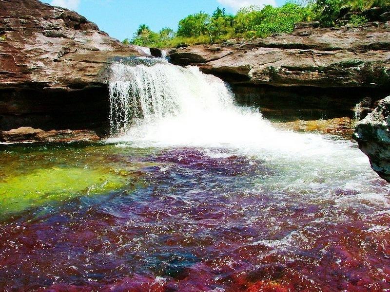 Самая красивая река пяти цветов! Каньо Кристалес!