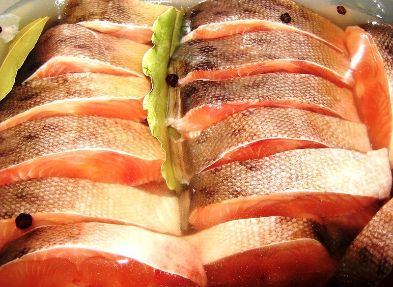 Домашнее соление рыбы и  селедки! Любителям селедки!