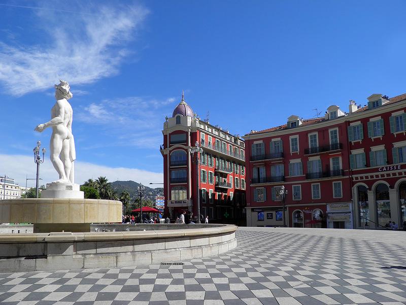 Ницца, прекрасный город Французской Ривьеры!