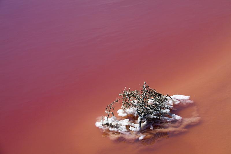 Озеро Хиллер (Hillier) розовое озеро, созданное природой