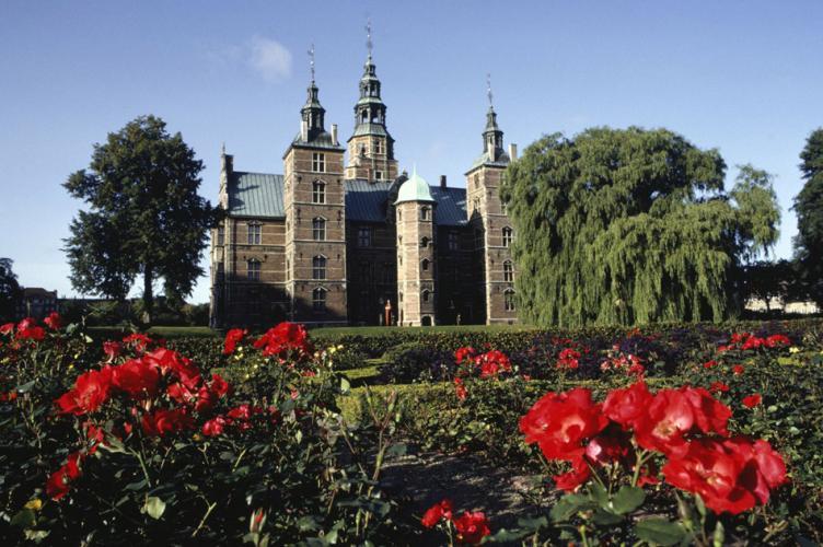 Замок Росенборг и Сад Королей в Дании!