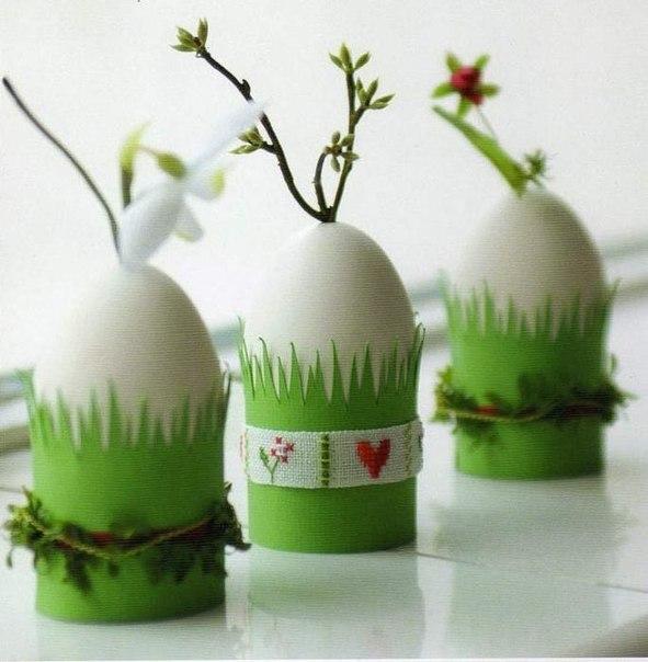 Идеи для пасхального декора. Поделки к Пасхе своими руками