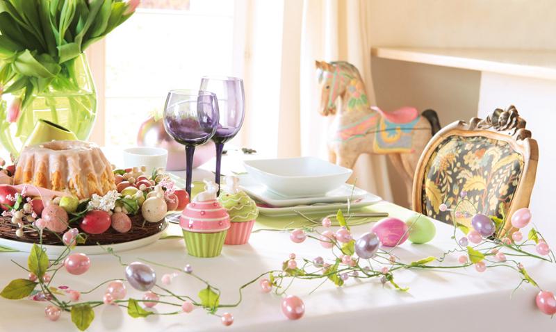 Как украсить пасхальный стол? Идеи