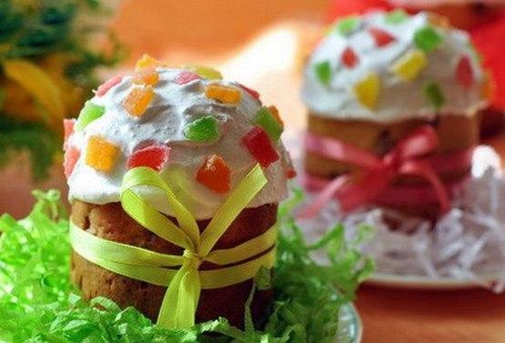 Вкусные куличи и кексы на Светлую Пасху.  Рецепты