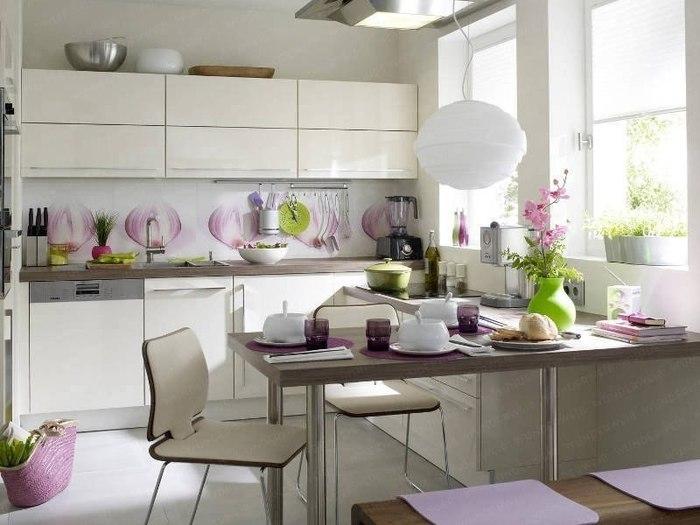 Фото красивый дизайн кухни