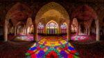 Розовая мечеть в Иране. Мечеть Насир аль-Мульк