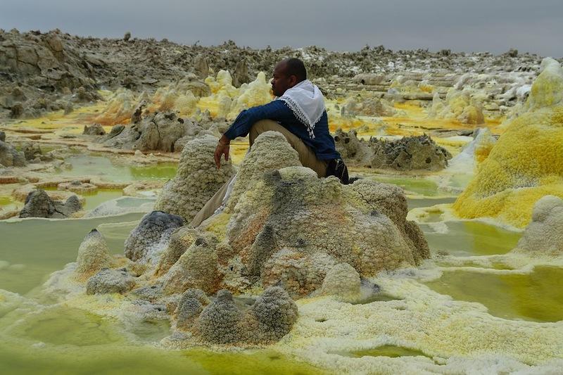 Вулкан Даллол. Эфиопия
