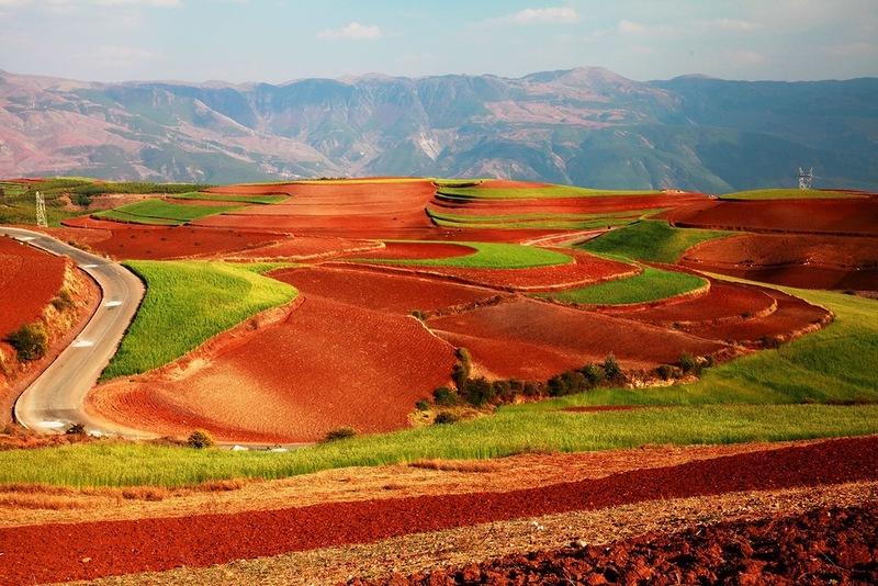Красные почвы Дунчуаня