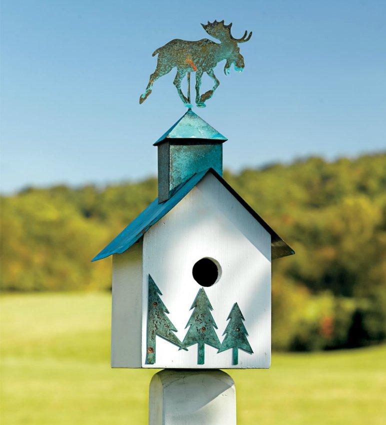 Кормушки и скворечники для птиц в каждом углу вашего сада