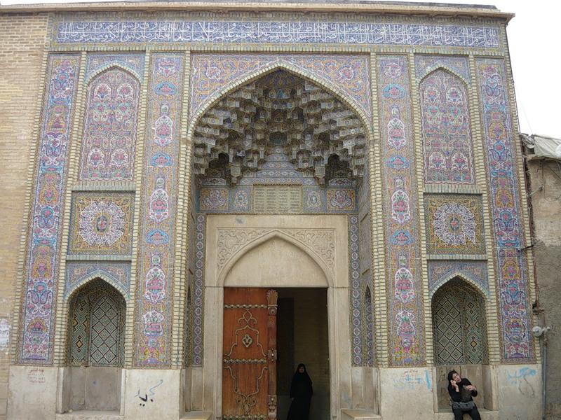 Мечеть роз, или Мечеть Насир-ол Молк в Иране