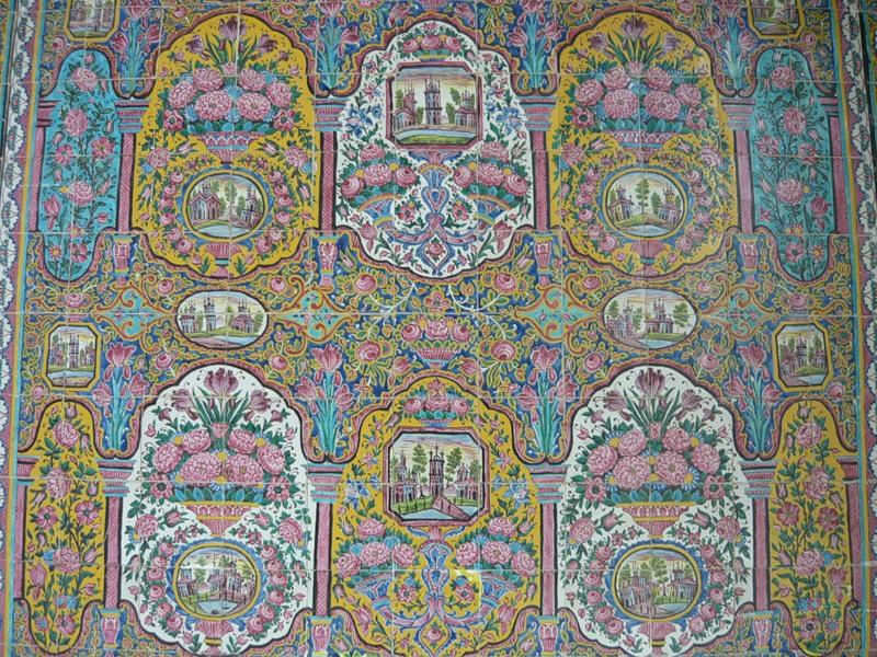 Мечеть роз, или Мечеть Насир-ол Молк в Иране12