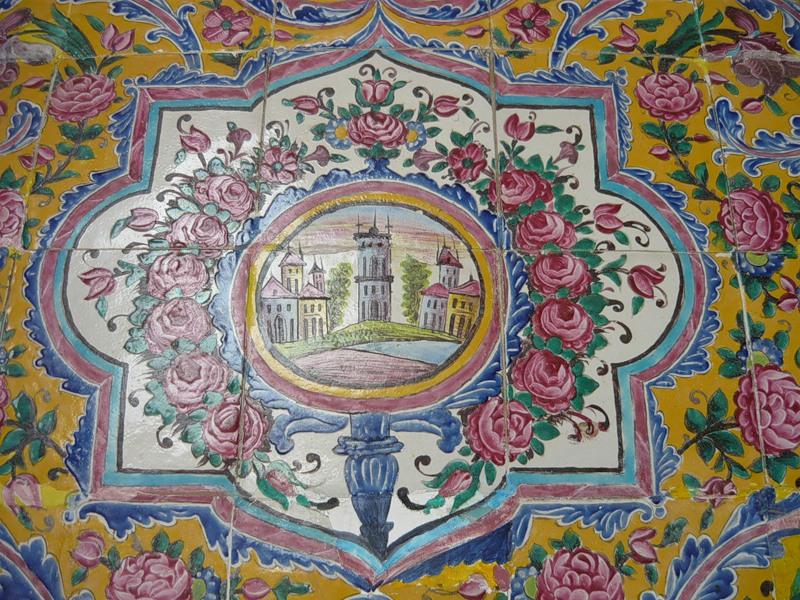 Мечеть роз, или Мечеть Насир-ол Молк в Иране3
