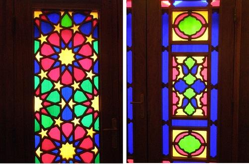 Мечеть роз, или Мечеть Насир-ол Молк в Иране30
