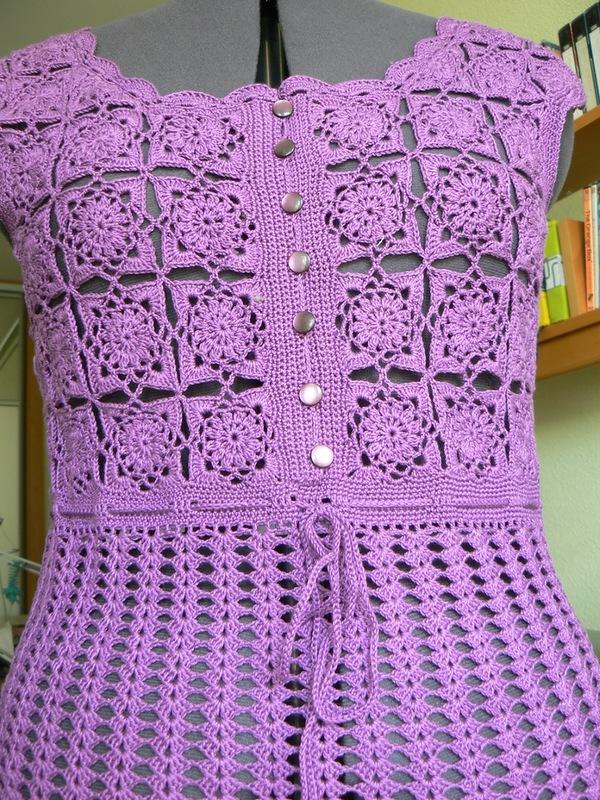 Вязаные платья, которые хочется  носить!