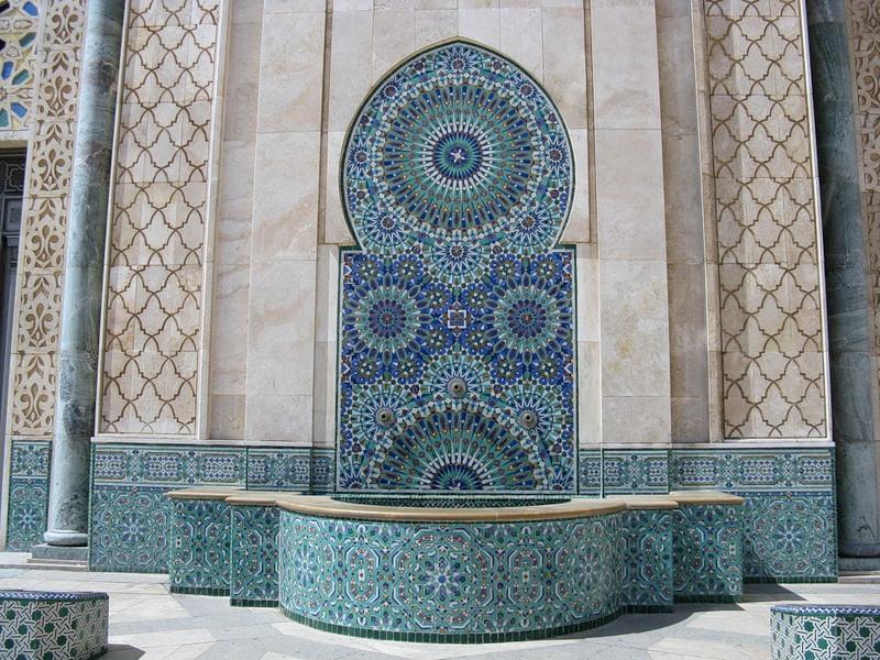 Великая Мечеть Хасана II. Касабланка