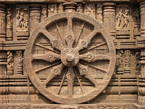 Храм Солнца в Конараке. Индия