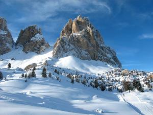 Зуб Мудрости. Более 80% территории Италии занимают горы и предгорья.
