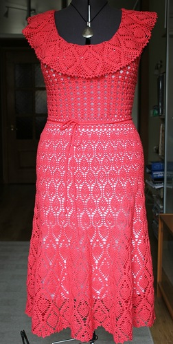 Вязаные платья, которые хочется связать и носить!