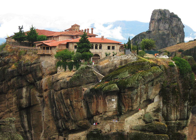 Метеоры. Монастырь Айа Триада