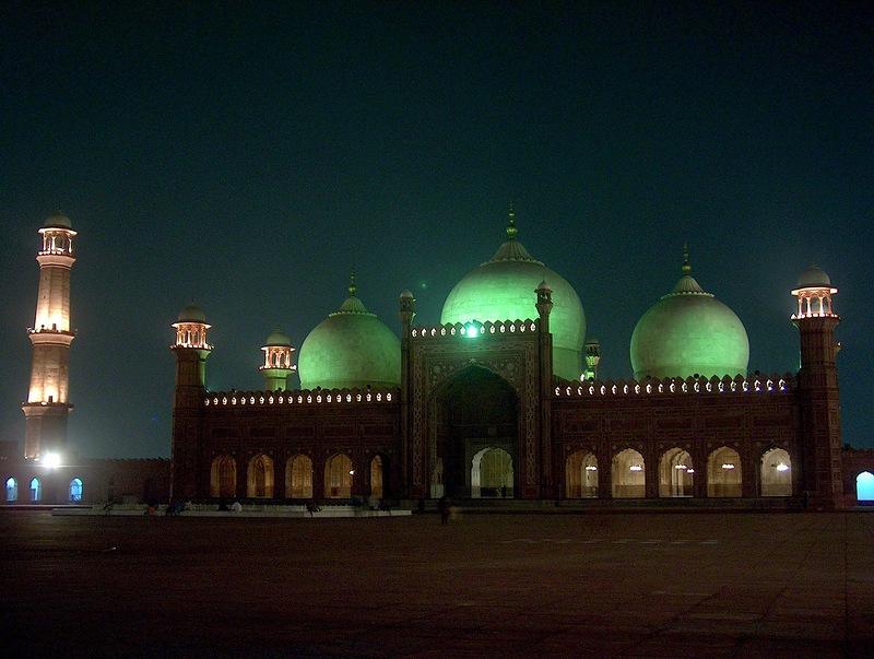 Мечеть Баджахи. Пакистан