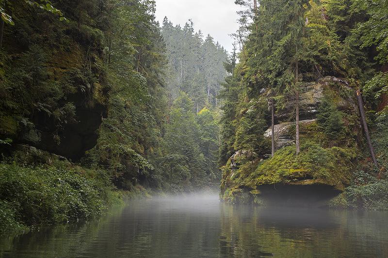 Каменице. Природный Парк Чешской Швейцарии