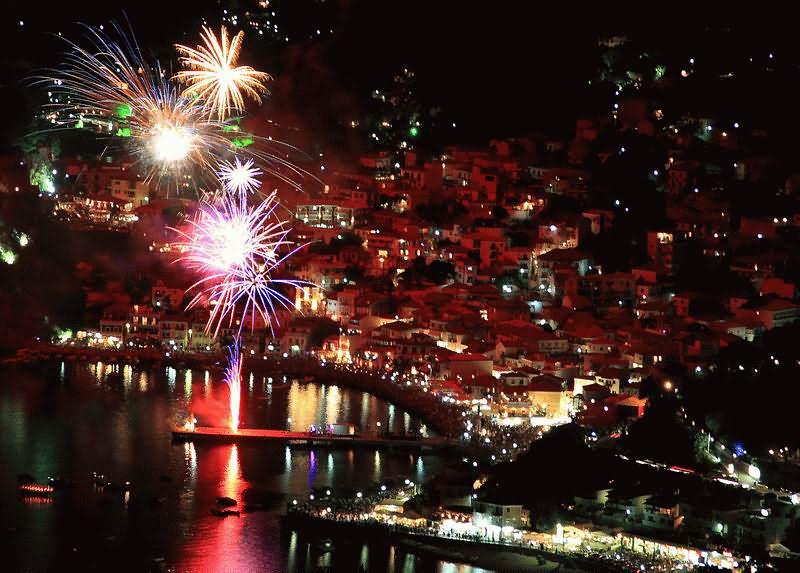 Греция Новогодняя