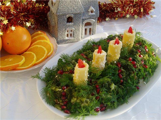 Новогодне-Рождественский стол