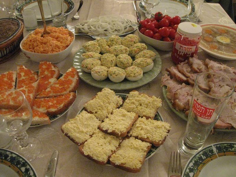 Новый салат, Новогодний стол