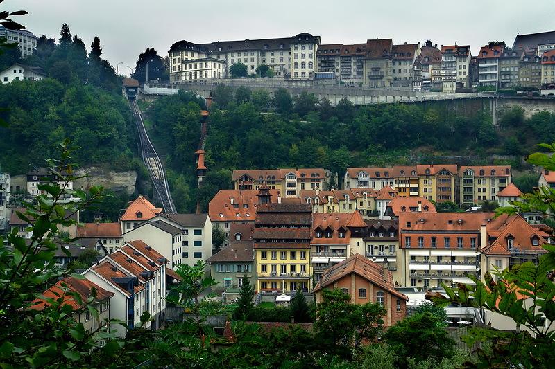Фрайбург. Прогулка по Фрибургу. Швейцария
