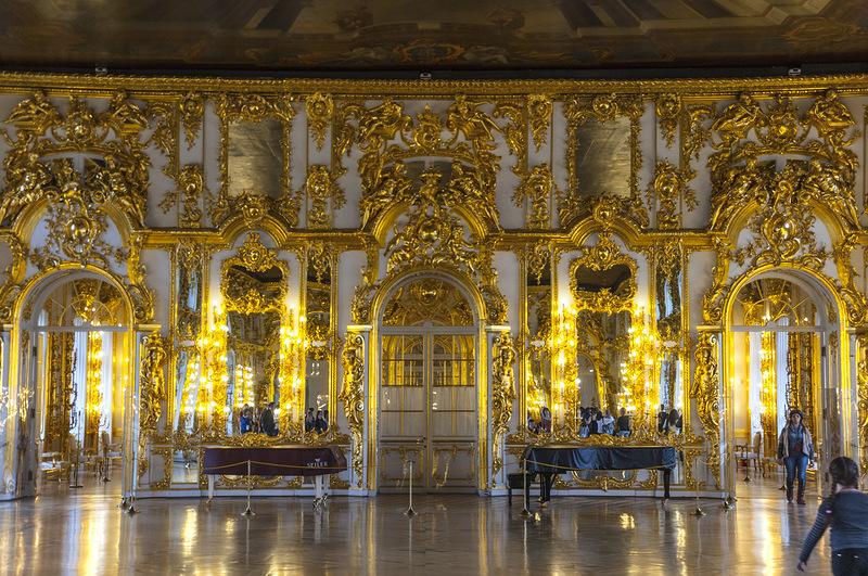 Екатерининский дворец.Царское село
