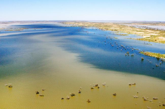 Озеро Эйр. Южная Австралия