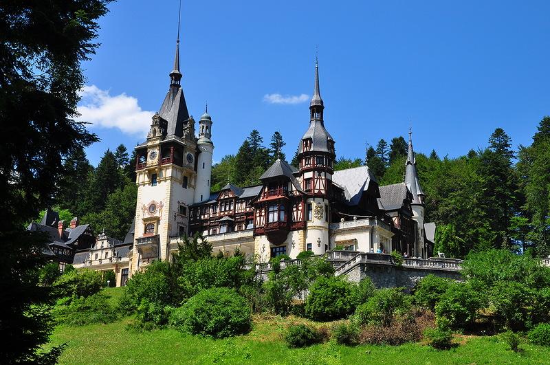 Замок Пелеш (Castelul Peles). Румыния